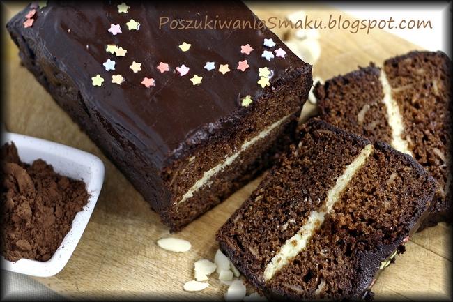 czekoladowy piernik przekładany
