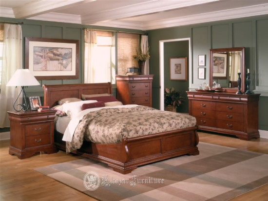 Cherry bedroom furniture furniture for Cherry wood bedroom furniture