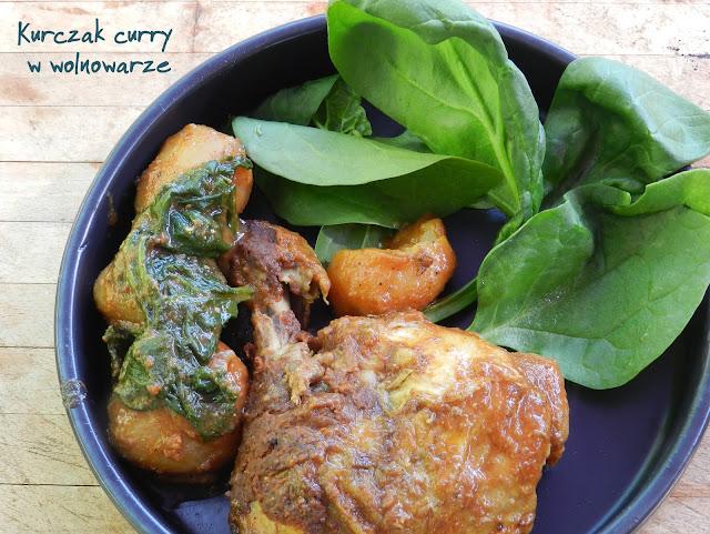 Kurczak curry w wolnowarze