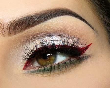 maquillage artistique yeux noisettes