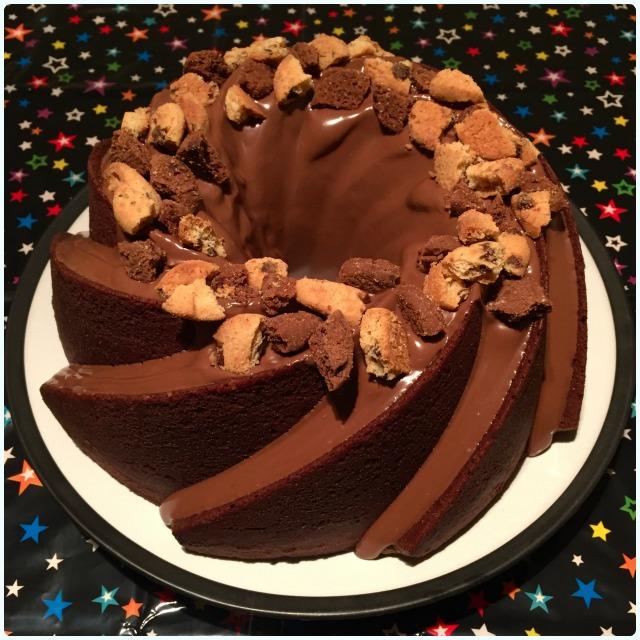 Chocolate Chip Cookie Bundt Cake