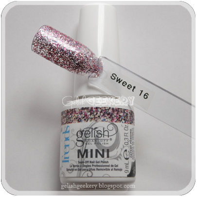 Gelish Trends Swatch: Sweet 16