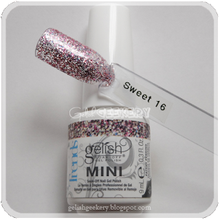 Gelish Swatch Sweet 16
