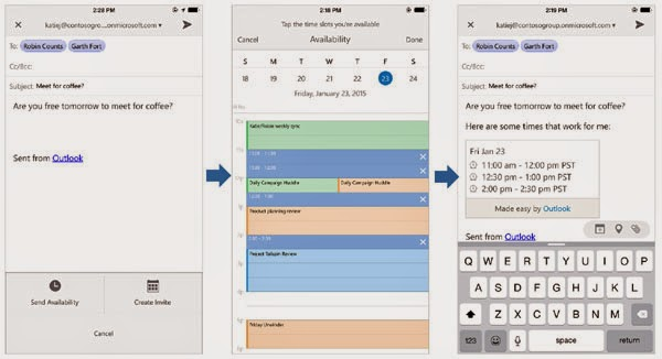 Microsoft Outlook email app released for iOS and Android