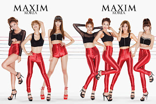 Nine Muses Maxim Korea Wallpaper 3