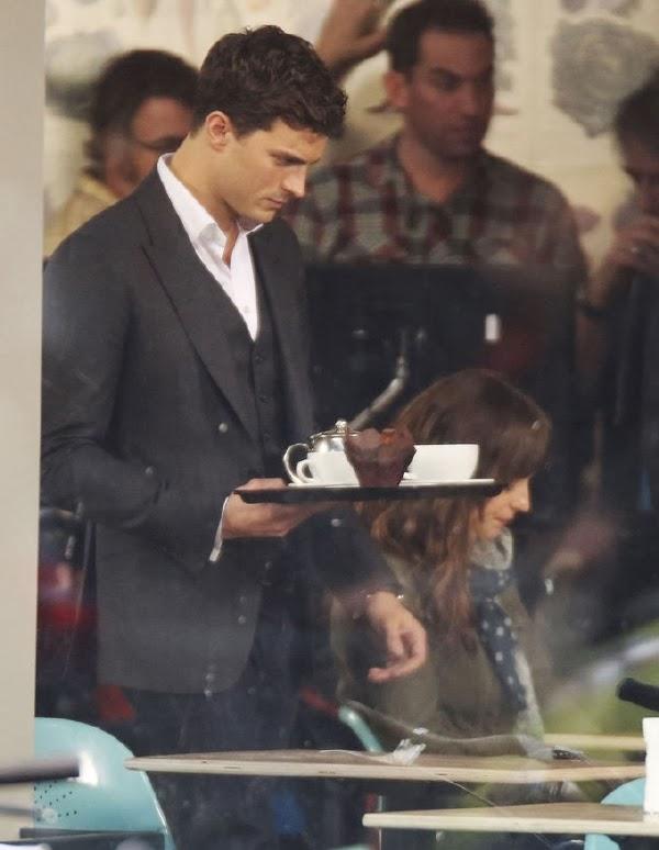 Jamie Dornan  en el rodaje de 50 Sombras de Grey: primeras imágenes50 Sombras de Grey: primeras imágenes