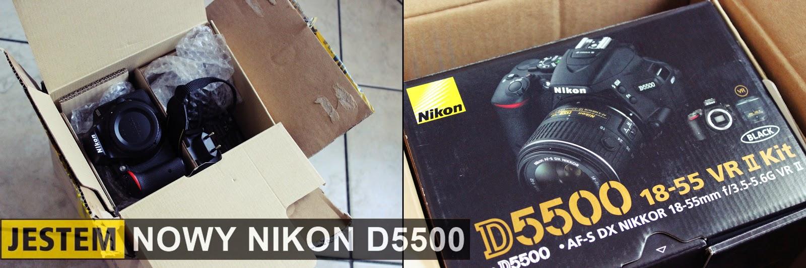 Jestem nowy Nikon D5500