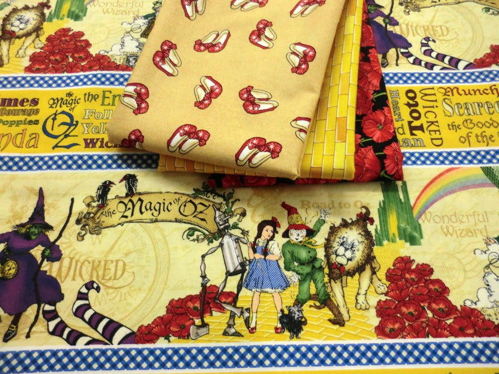 Bigfork Quilts Etc: Wizard of Oz Fabric Has Arrived. . . : oz quilts - Adamdwight.com