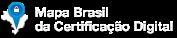 Mapa dos pontos de validação em todo o Brasil