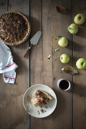 One of fall's classic pies, best enjoyed with a cup of coffee