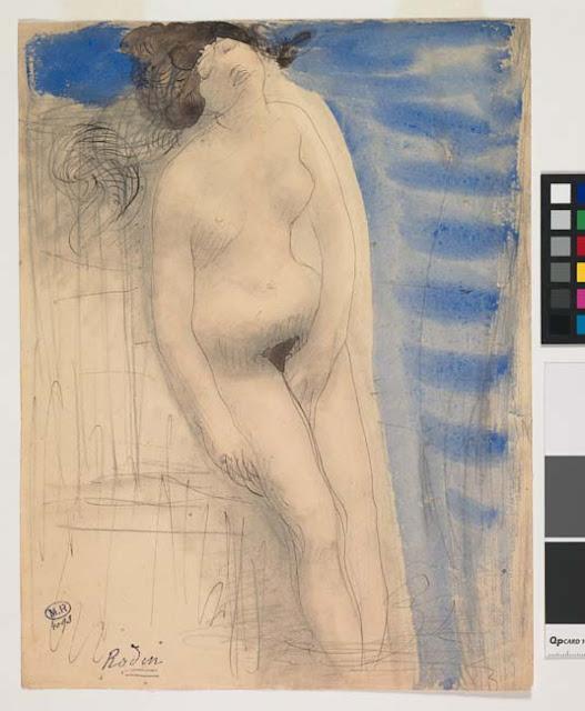 Femme nue, une main entre les cuisses dite Naissance de Vénus, © Musée Rodin - Photo Jean de Calan