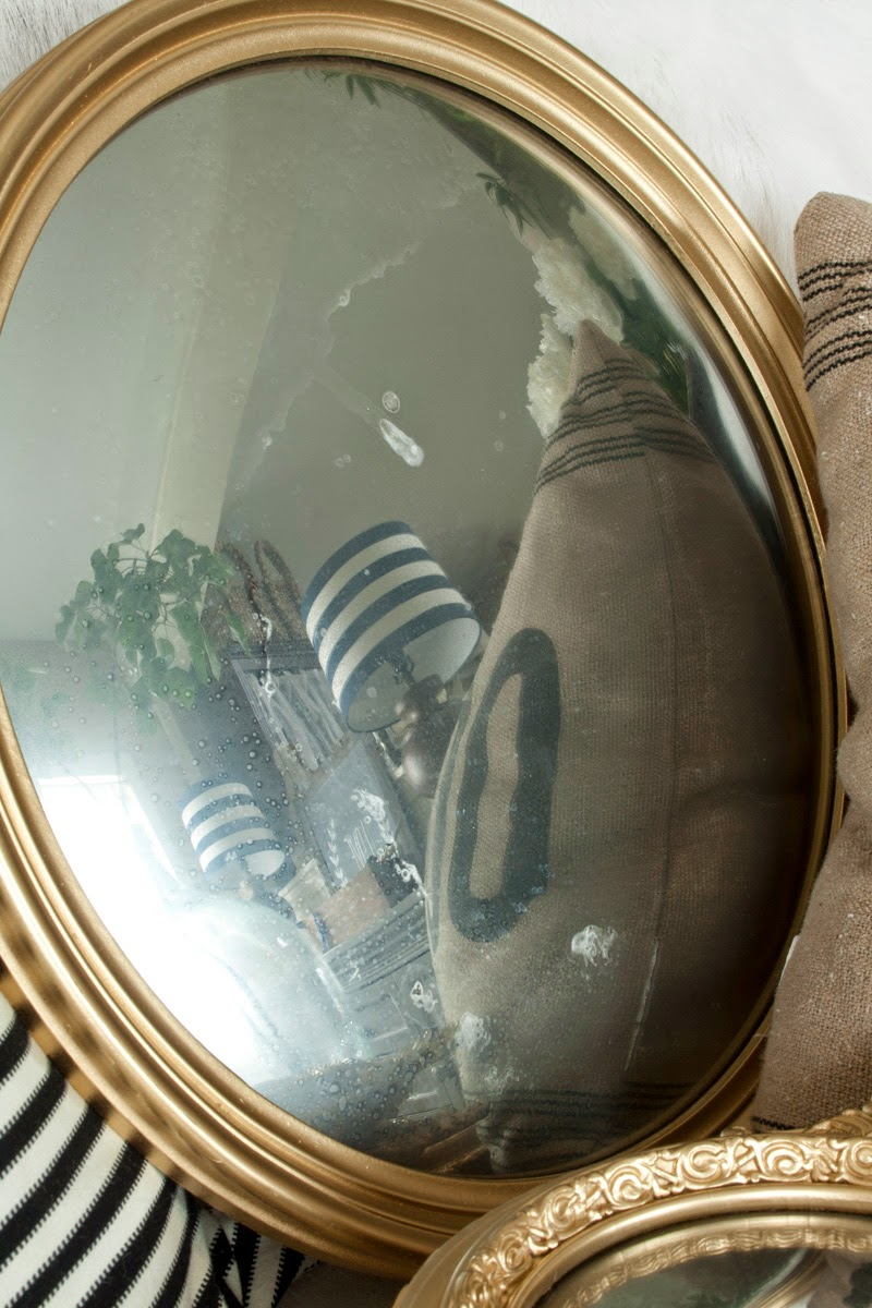 Antique Convex Mirror Tutorial, inspire me diy