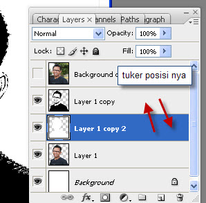 tukar posisi layer 1 copy 2