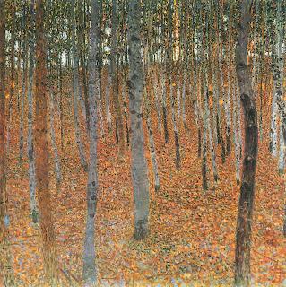 Beech Grove Gustav Klimt