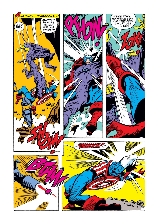 Captain America (1968) Issue #129 #43 - English 15
