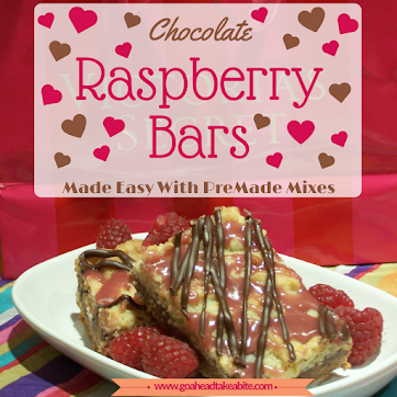 Chocolate Raspberry Bars