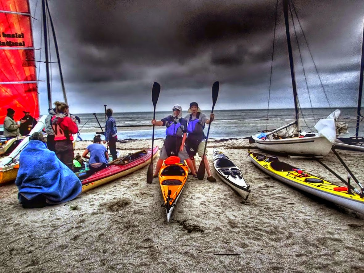 The Start Beach, Everglades Challenge 2015