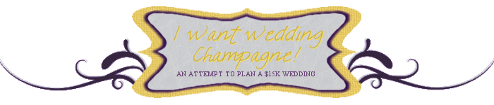 I Want Wedding Champagne!