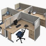 Kantor Partisi Modera Workstation 3-5-Series