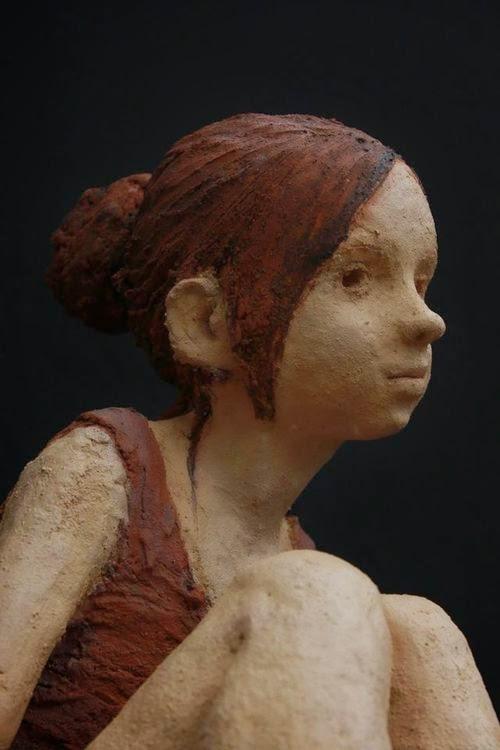 Resultado de imagen de escultora juega