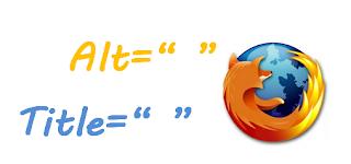 Alt e Title no Firefox