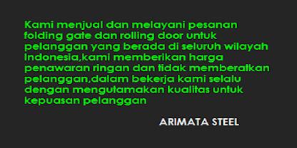 gambar untuk ungkapan arimata steel