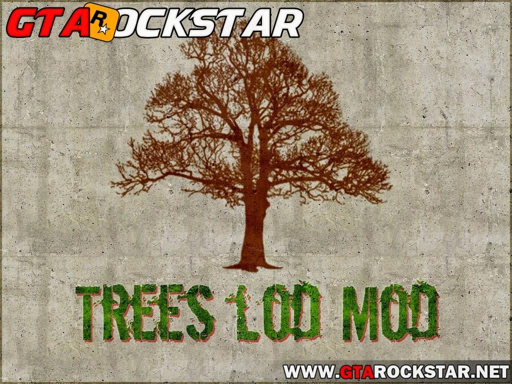 GTA SA - Trees LOD Mod (Ver árvores a Distância)