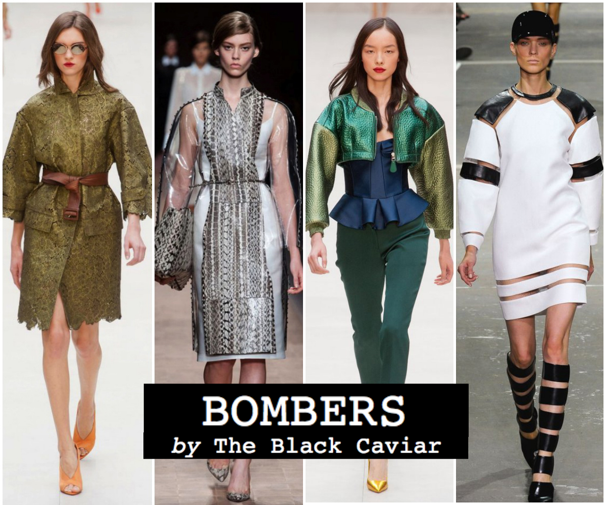 Summer fashion trend 2013: Bomber Jackets (Burberry, Valentino, Alexander Wang)