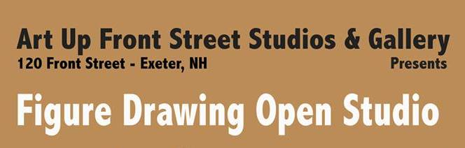 FIGURE DRAWING OPEN STUDIO TUESDAY JULY 17
