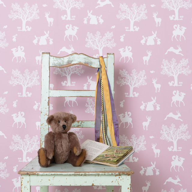 Hibou Home | Children's Wallpaper | Enchanted Wood