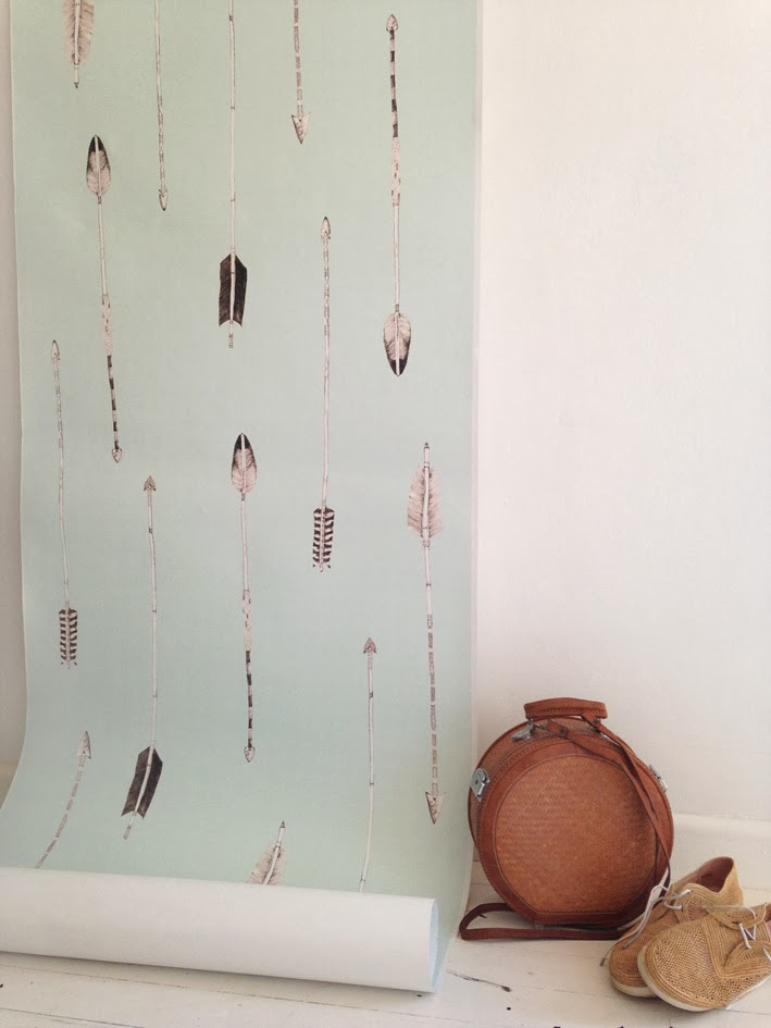 Muskwood Wallpaper and Textiles Australia - Standing Arrows