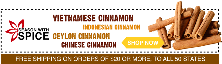 buy high quality cinnamon gift set at season with spice shop