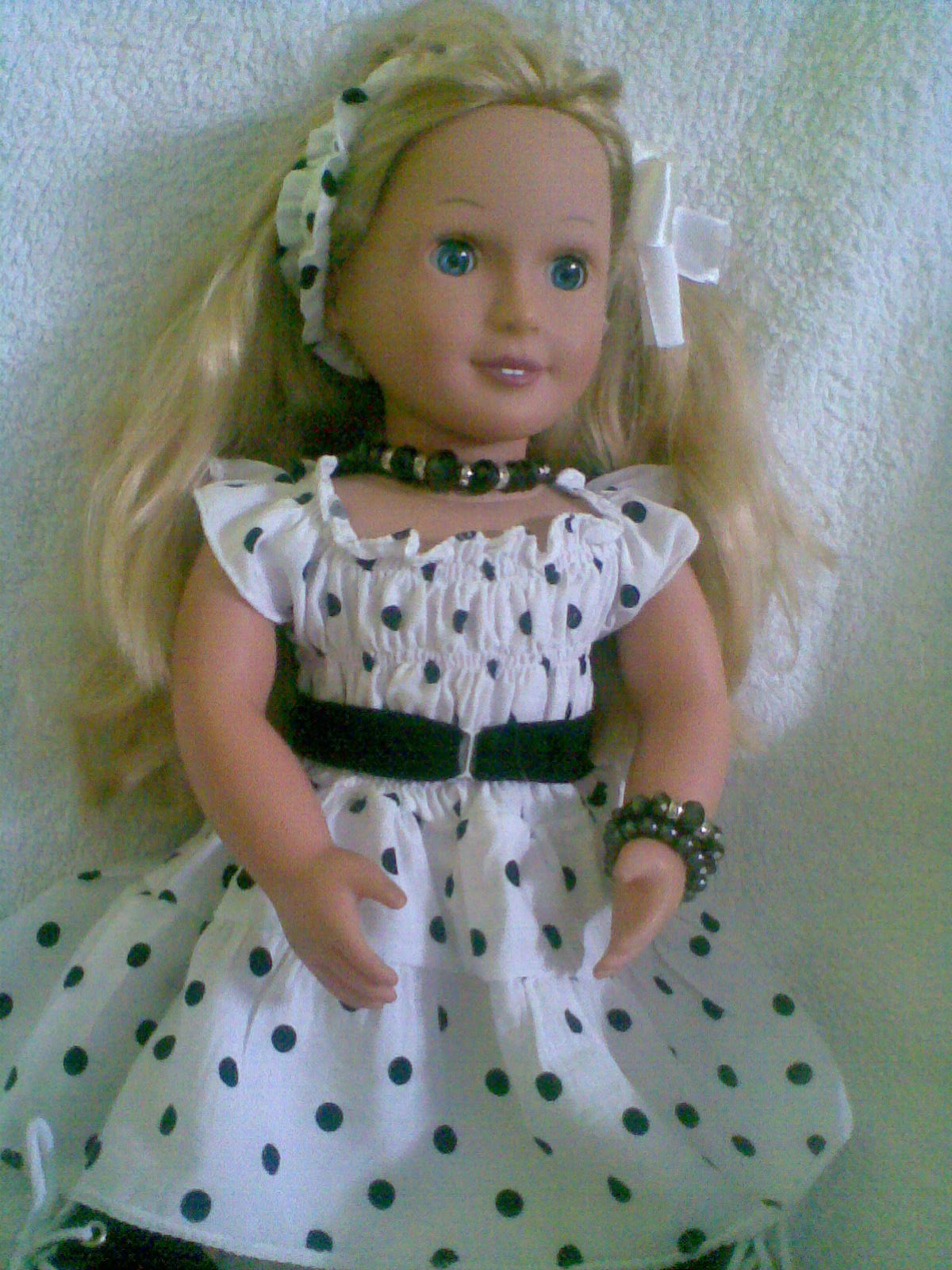 Free Knitting Patterns For Our Generation Dolls : MarindaCreations: Pic of my Battat our Generation Doll in ...