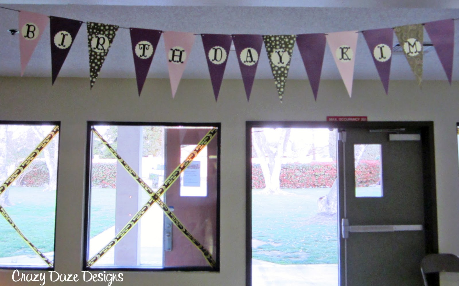 Crazy Daze Designs: A Big 50th Birthday Party