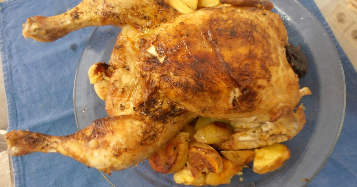 Delikasero pollo al horno con ciruelas - Limpiar horno con limon ...