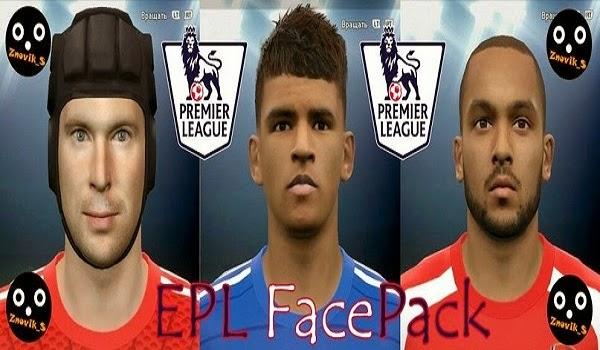 Update PES 2015 EPL FacePack