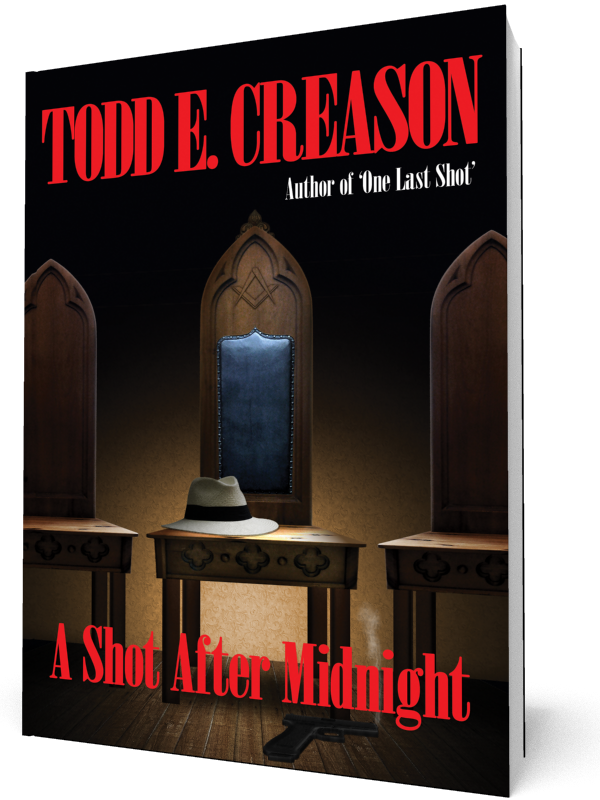 http://www.amazon.com/One-Last-Shot-Todd-Creason/dp/0983115605/ref=sr_1_4?ie=UTF8&qid=1401454477&sr=8-4&keywords=Todd+E.+Creason