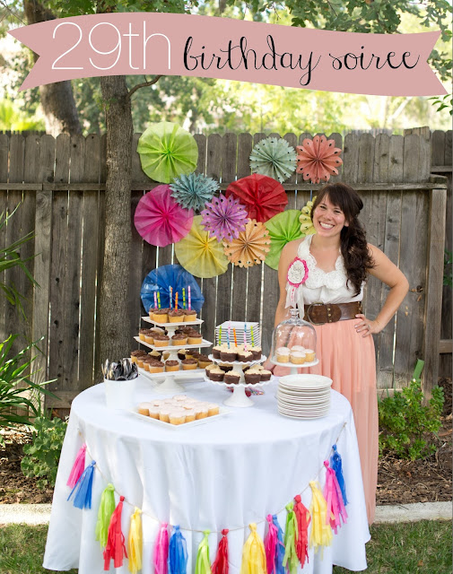 Colorful Backyard Birthday Soiree