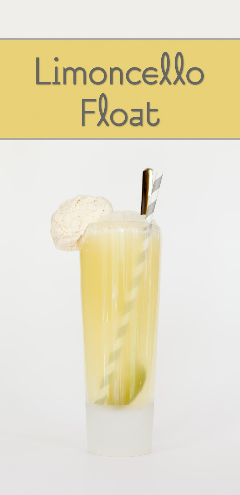 Limoncello Ice Cream Floats | Cupcake Project