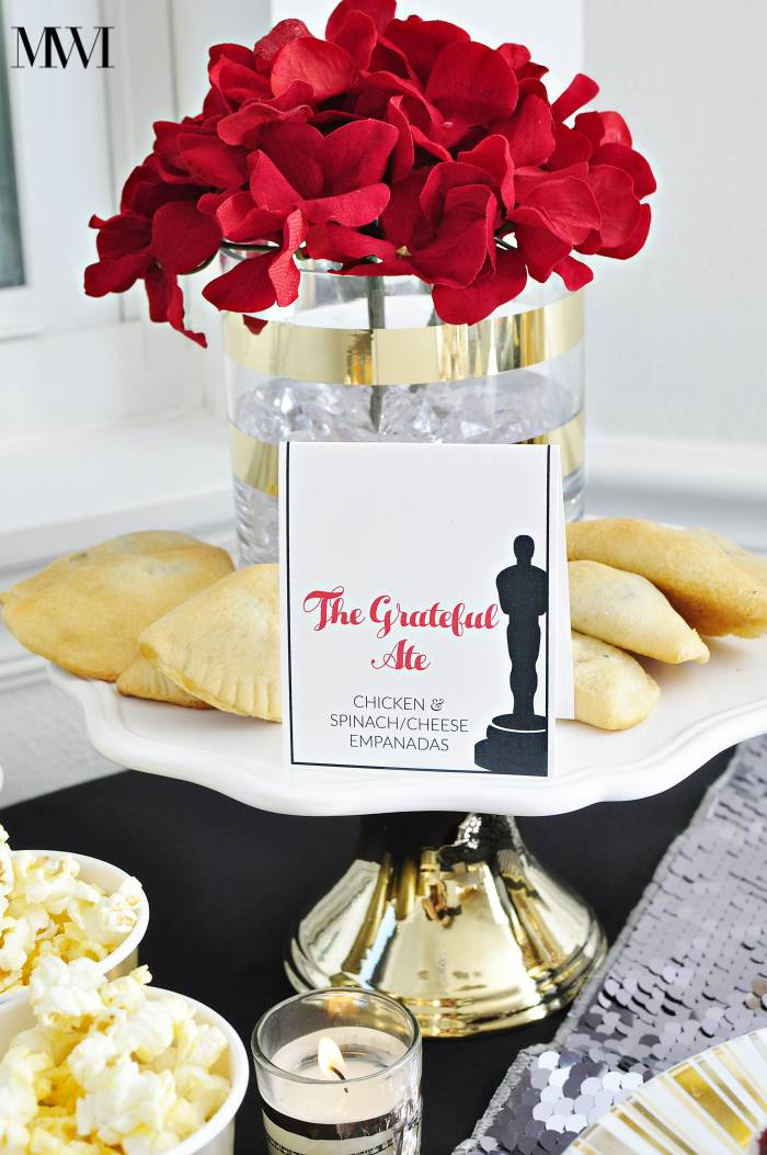Oscars party ideas free printable