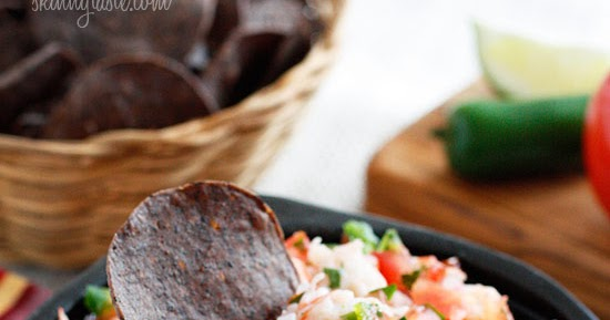 Riches to Rags* by Dori: Skinny Shrimp Salsa - Mouth Watering