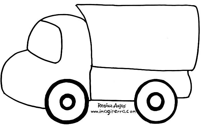 Desenho como desenhar desenhos de caminhonete e fusca para copiar pintar e colorir