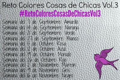 Reto Colores Cosas de Chicas Vol.3: Blanco