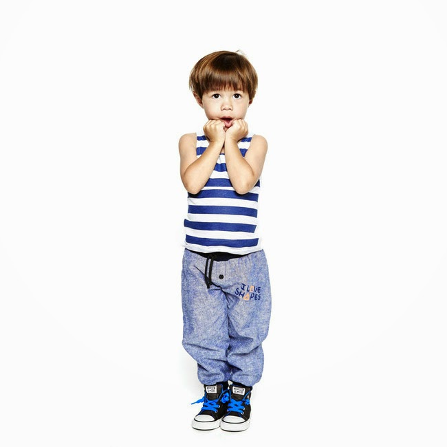 Simple and stylish spring collection 2014 by kidswear brand Good Boy Friday