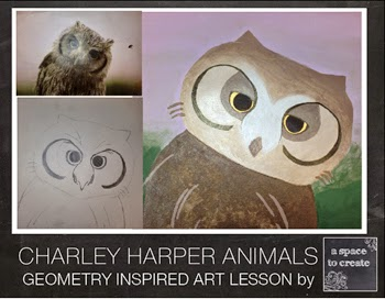 http://www.teacherspayteachers.com/Product/Art-Lesson-Charley-Harper-Animals-523644