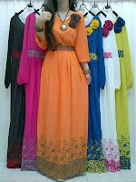 Gamis Sifon Bordir SOLD OUT