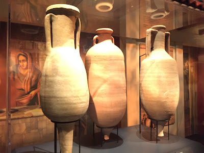 Amphorae for Garum (terracotta, 1st century A.D., Pompeii)