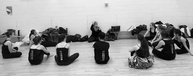 Orchasis Dance Team Prepares