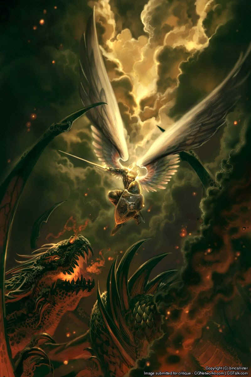 consider moon dragonslaying archangels totally epic