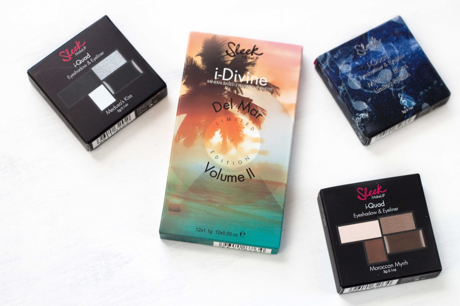 SPRING LAUNCHES FROM SLEEK | i-QUADS + DEL MAR VOL II PALETTE